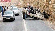 حوادث رانندگی در جاده های کشور 16 کشته و 6 مجروح به جا گذاشت