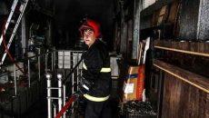 آتش سوزی پاساژ حامی سنندج مهار شد