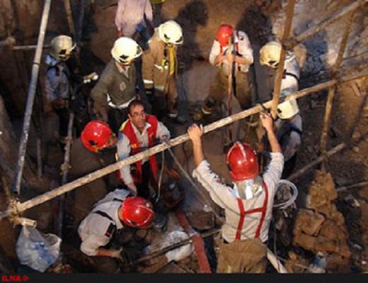 ریزش آوار عامل مرگ یک کارگر ساختمانی در چاه