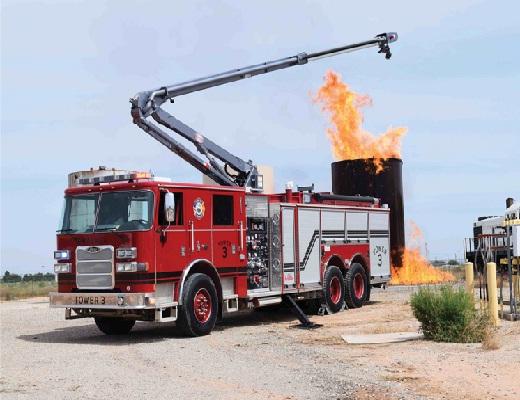 حفاظت میدان نفتی با Snozzle HRET