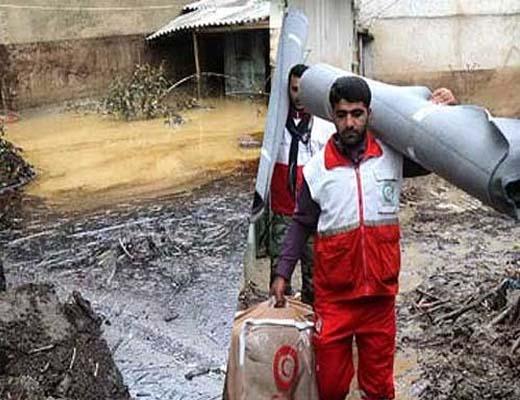 تقدیر رئیس جمعیت هلال احمر از جمعیت استان تهران برای خدمت رسانی به سیل زدگان