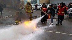برگزاری كلاس های آموزشی اصول ایمنی و آتش نشانی