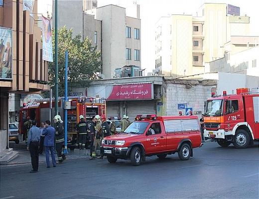 برگزاری مانور مقابله با آتش سوزی در سینما ماندانا