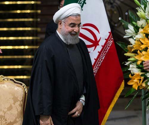 استقبال رسمی روحانی از نخست وزیر هند