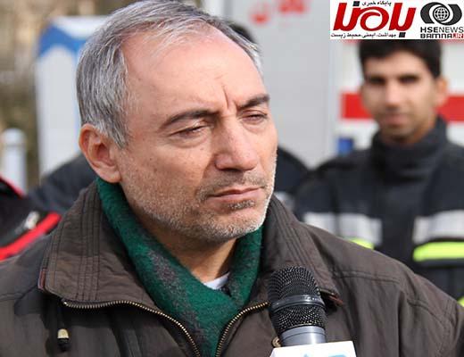 گفت و گو با مدیرعامل سازمان آتش نشانی ششمین نمایشگاه حفاظتی و ایمنی اصفهان