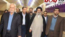 بازدید امام جمعه اصفهان از ششمین نمایشگاه حفاظتی و ایمنی اصفهان