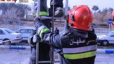 مانور ششمین نمایشگاه حفاظتی و ایمنی اصفهان