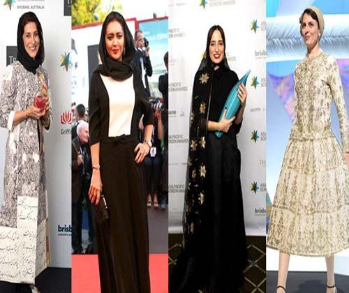 نگاهی به لباس زنان ایرانی در جشنواره ها