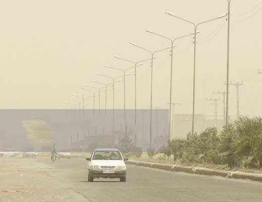 """هوای کرمانشاه در وضعیت """"بحران"""" است"""