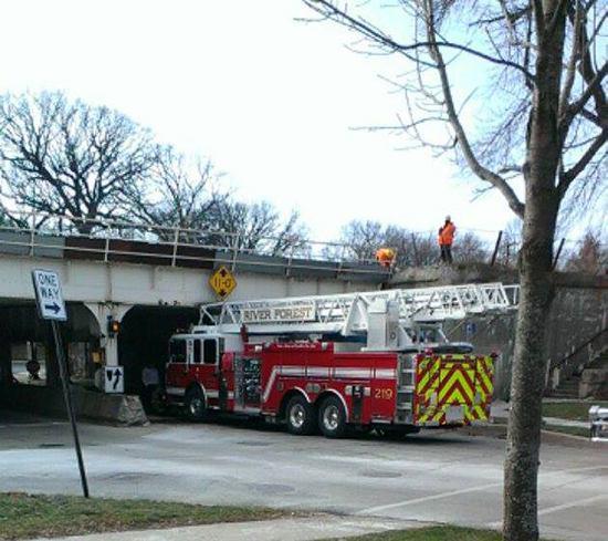 حوادث نردبان آتش نشانی