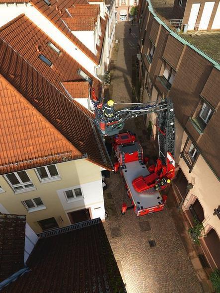 نردبان استاندارد آتش نشانی- استفاده در شرایط خاص