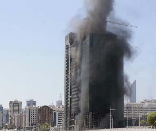 ۴۰ برج مشهد در معرض آتش سوزی