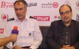 اعضای سازمان آتش نشانی و اتحادیه ایمنی تهران در نمایشگاه ایپاس