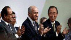 توافق آب وهوایی سازمان ملل به تصویب رسید/ همه کشورهای جهان متعهد به کاهش گازهای آلاینده شدند