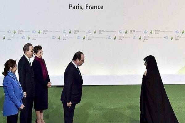 استقبال رییس جمهور فرانسه دیدارهای ابتکار در حاشیه اجلاس جهانی COP21