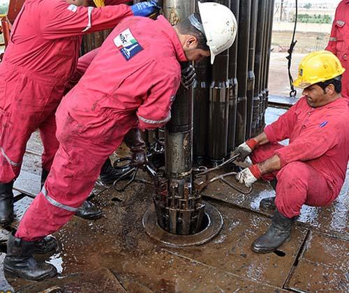 حفاری و تکمیل ۳۰ حلقه چاه نفت و گاز در دو ماهه امسال