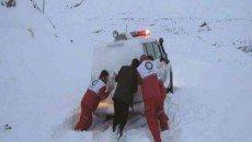 21 استان درگیر برف و کولاک و امدادرسانی به 71 هزار تن