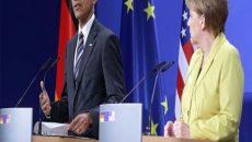 """اوباما و مرکل ایجاد """"منطقه امن"""" در سوریه را بعید دانستند"""