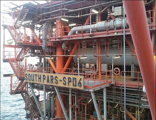 تعمیر شیر ایمنی درون چاهی سکوی SPD۶ به وسیله متخصصان داخلی
