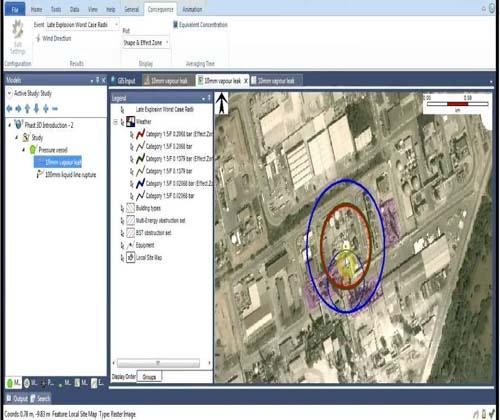 مدلسازی و آنالیز پیامد مخزن آمونیاک مجتمع پتروشیمی کرمانشاه با استفاده از نرم افزار phast
