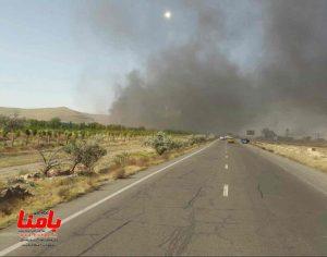 آتشسوزی گسترده در کارخانه ایران خودرو تبریز