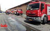 آتشسوزی گسترده در کارخانه ایران خودرو تبریز مهار شد
