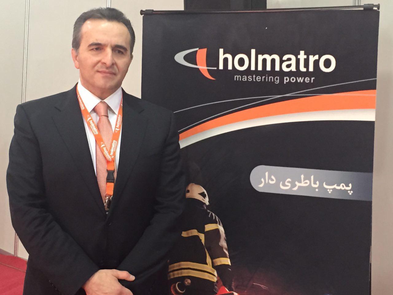رونمایی جدیدترین فناوری امداد و نجات Holmatro  سری ۵۰۰۰