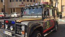 خودرو بومی مدیریت بحران در سازمان آتش نشانی اصفهان ساخته شد