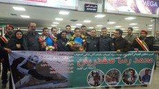 قهرمان آتش نشانی استان اصفهان