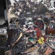 گالری عکس آتشسوزی و شهادت علی قانع