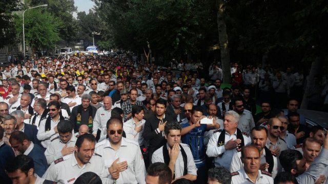 خیابان بهشت مقابل ساختمان شهرداری تهران