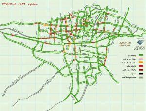 بزرگراه های تهران