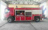 مشخصات فنی خودرو آتش نشانی با شاسی رنو میدلام