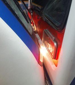 تصادف شدید 2 قطار مترو تهران در ایستگاه طرشت