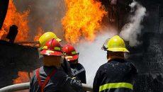 حضور آتش نشانان قزوینی در 293 عملیات طی مردادماه