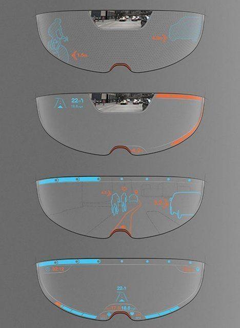 دید 360 درجه با کلاه ایمنی جدید + تصاویر