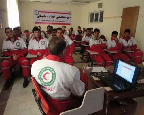 برگزاری اولین دوره تربیت مربی امداد و نجات نیروهای مسلح