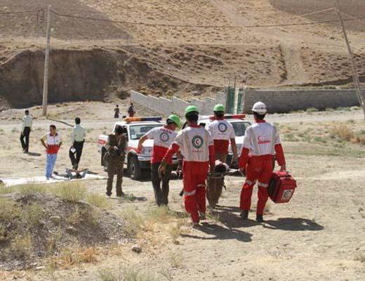 برگزاری مانور امداد و نجات در ارتفاع و اطفاء حریق کانتینر در بندرشهید رجایی