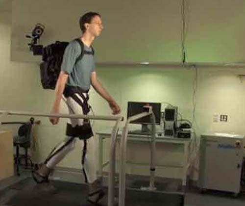 ساخت یک ربات پوشیدنی برای کمک به حمل بار