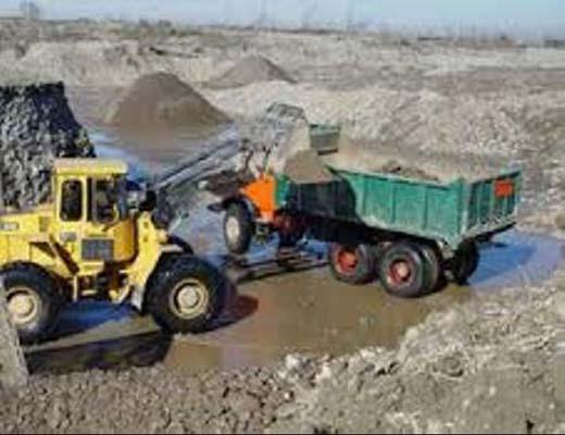 برداشت بیش از حد شن و ماسه از معدن های رودخانه ای گیلان