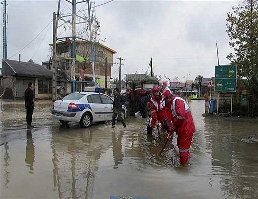 ۹ استان درگیر سیل و آبگرفتگی، امدادرسانی به ۴۱ شهر و روستا