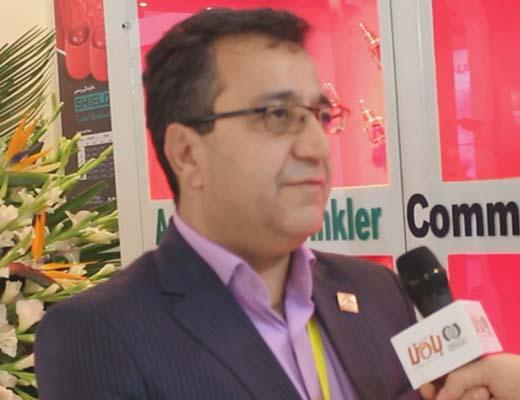 شیرازی، مدیرعامل شرکت آب و آتش نقش جهان
