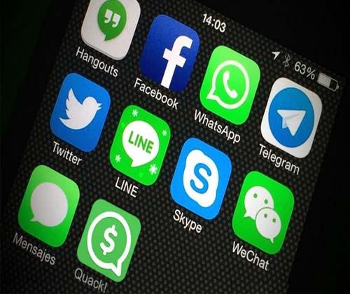 مهاجرت از شبکههای اجتماعی به پیام رسان ها