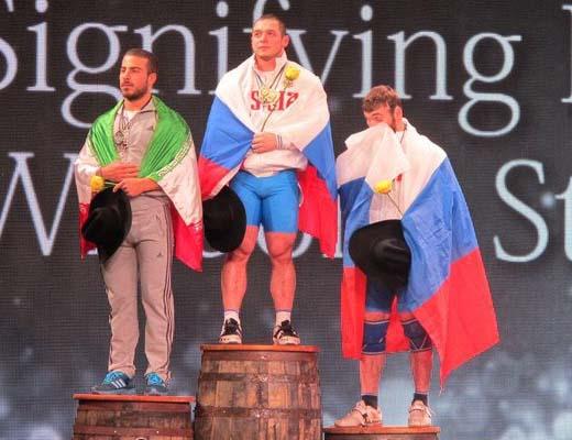کیانوش رستمی نایب قهرمان جهان شد