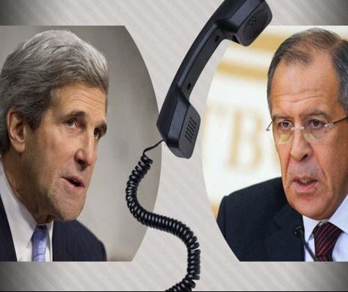 عملیات مشترک در سوریه، محور تماس تلفنی کری و لاوروف