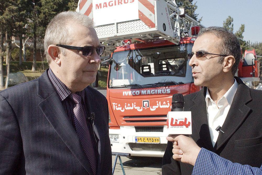 تفاهم نامه ایران و روسیه برای آموزش متخصصان آتش نشانی