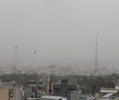 احتمال گردوخاک در استان تهران