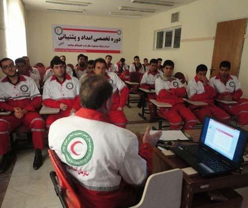 دوره آموزش تخصصی مدیریت بحران در هلال احمر برگزار شد