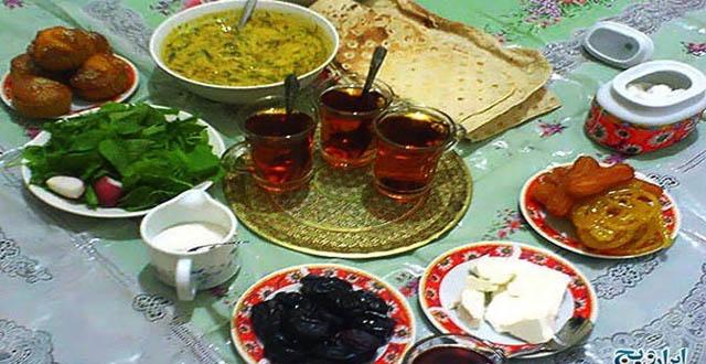 توصیه های بهداشتی ماه رمضان