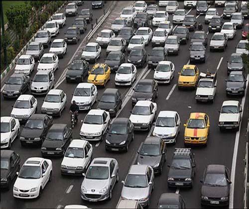 ترافیک سنگین در آزادراه تهران، کرج، قزوین و جاده چالوس